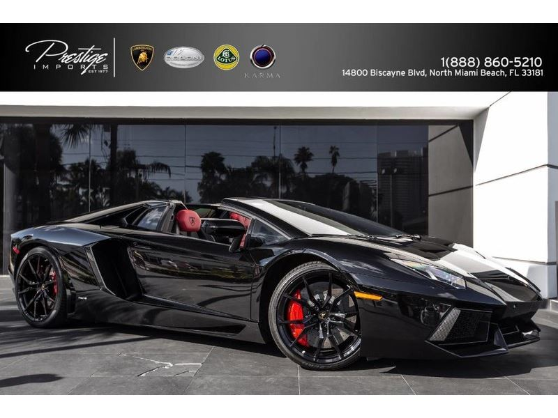 2015 Lamborghini Aventador Roadster For Sale On Gocars