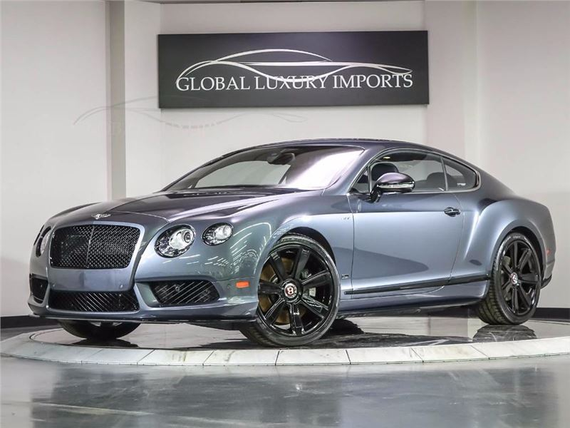 2015 Bentley Continental GT V8 S for sale in Burr Ridge, Illinois 60527