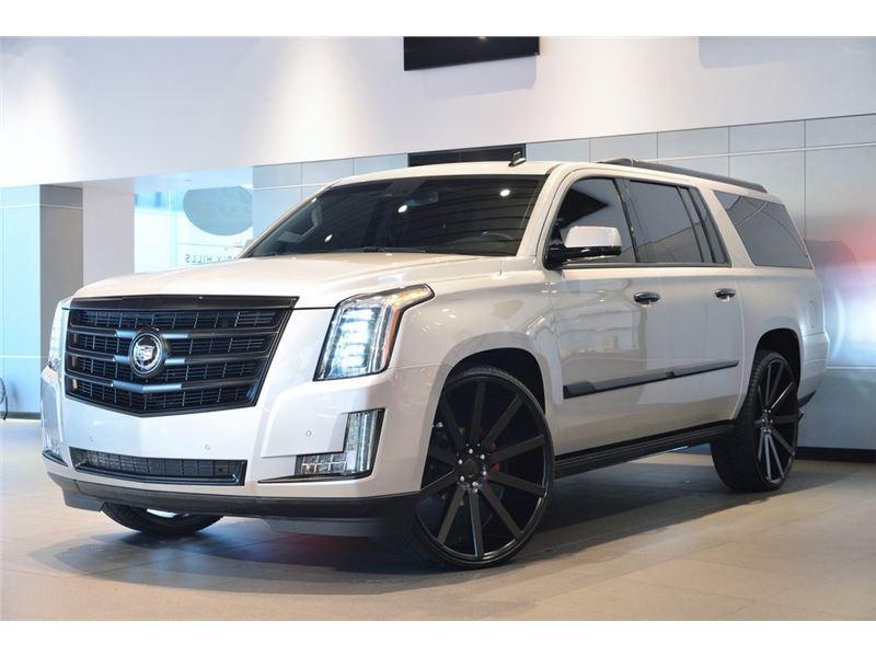 New Lease Cadillac Escalade 2015