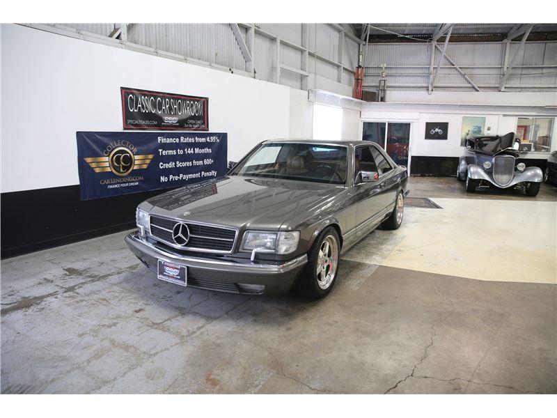 1987 Mercedes-Benz 560SEC for sale on GoCars