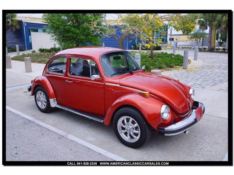 1974 volkswagen super beetle for sale gc 24490 gocars. Black Bedroom Furniture Sets. Home Design Ideas