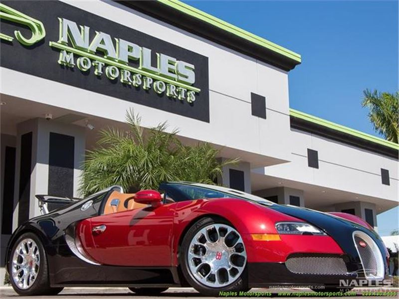 2012 Bugatti Veyron GrandSport 16.4 for sale in Naples, Florida 34104