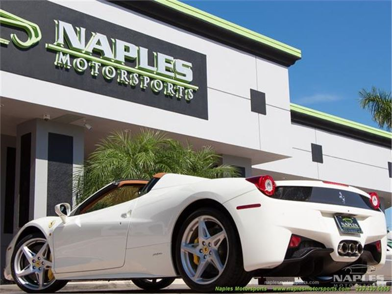 2014 Ferrari 458 Spider for sale in for sale on GoCars