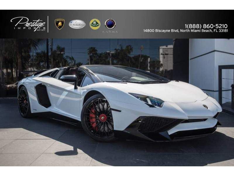 2017 Lamborghini Aventador Superveloce For Sale Gc 25470 Gocars