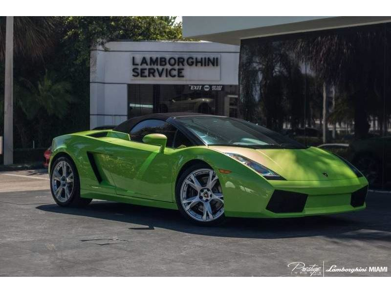 2008 Lamborghini Gallardo For Sale Gc 25522 Gocars