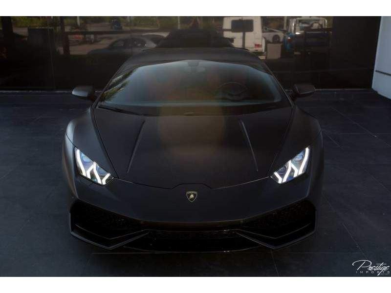 2015 Lamborghini Huracan Coupe Matte Black For Sale Gc 25544 Gocars