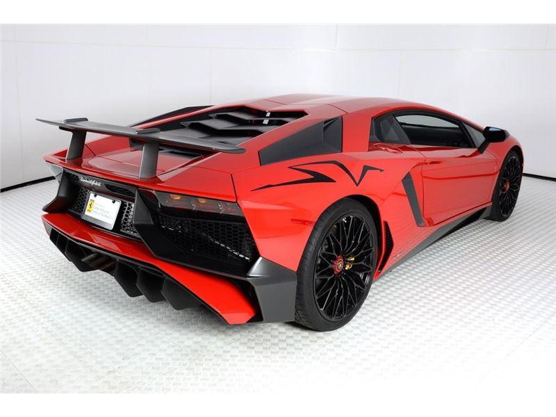 2017 Lamborghini Aventador Sv For Sale Gc 25961 Gocars