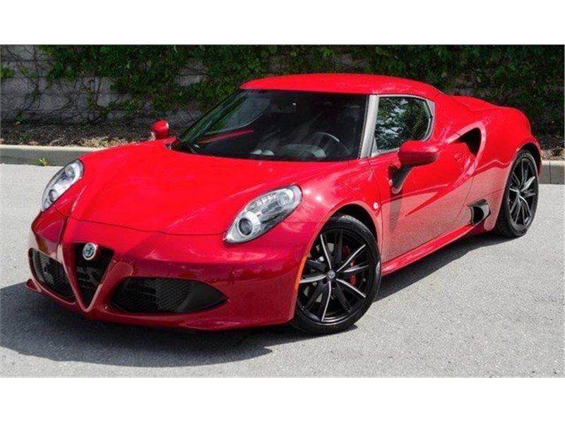 Alfa Romeo 4C For Sale >> 2017 Alfa Romeo 4c For Sale On Gocars