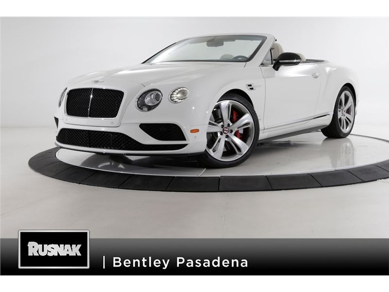 2017 Bentley Continental for sale in for sale on GoCars