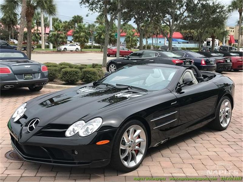2008 Mercedes-Benz SLR McLaren SLR Roadster for sale in for sale on GoCars