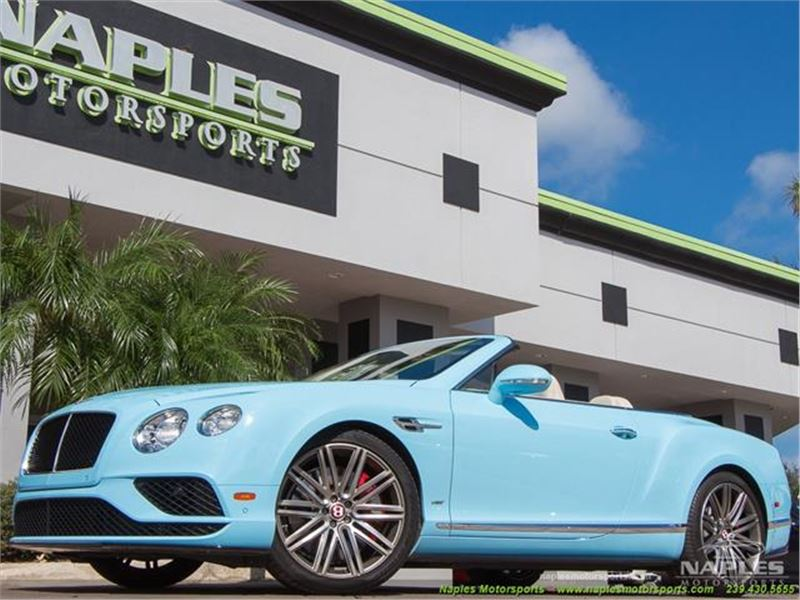 2016 Bentley Continental Gtc V8 S For Sale Gc 26992 Gocars