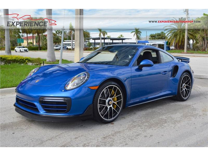 2018 Porsche 911 Turbo S for sale in Fort Lauderdale, Florida 33308