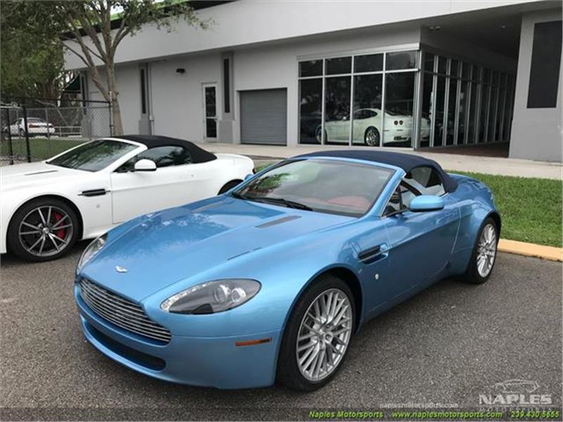 Aston Martin Vantage Roadster For Sale GC GoCars - Aston martin naples