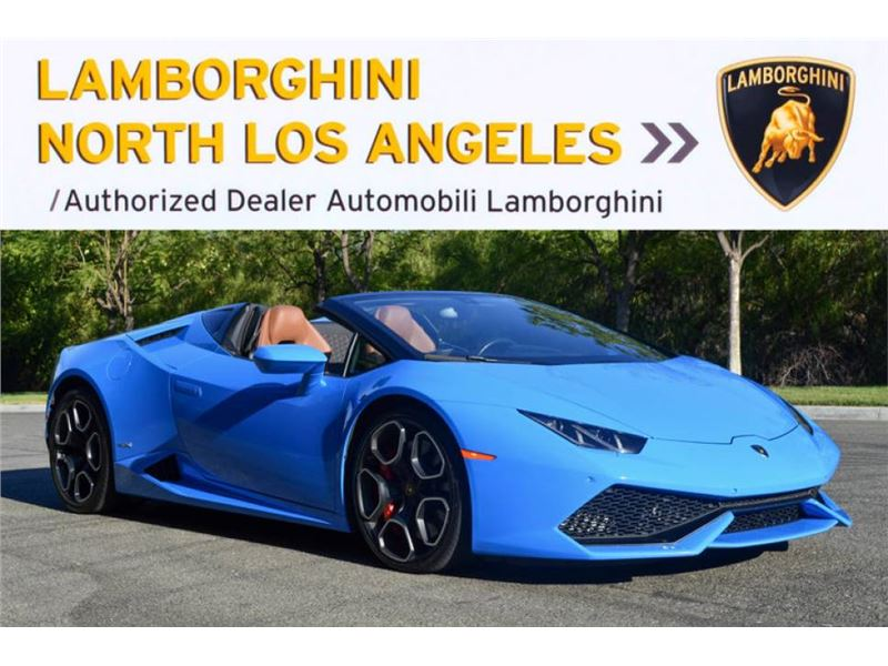 2016 Lamborghini Huracan Lp610 4 Spyder For Sale Gc 27398 Gocars