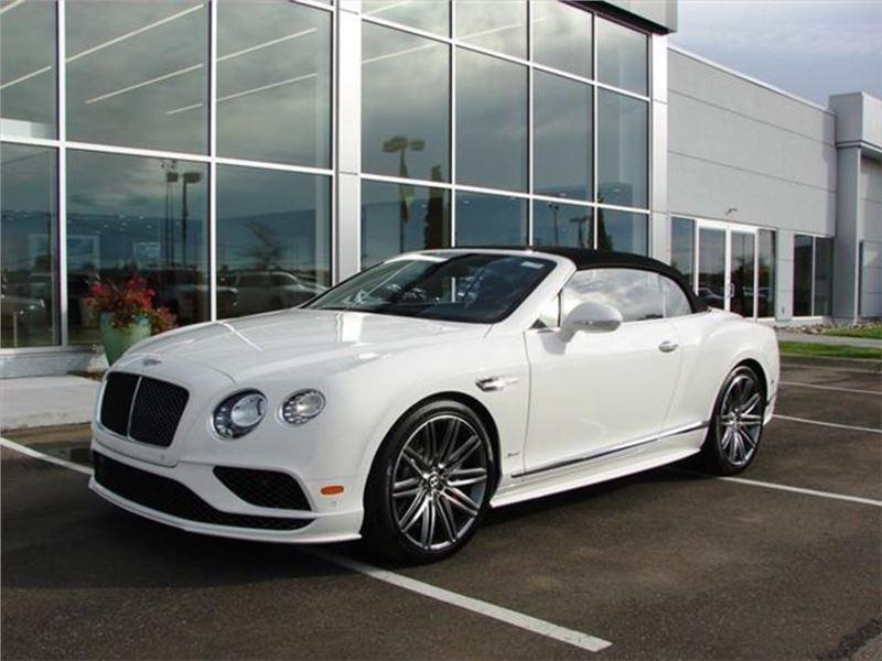 2017 Bentley Continental Gtc Sd