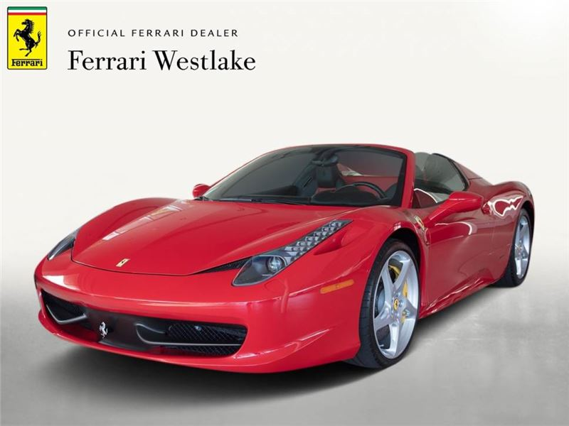 2014 Ferrari 458 Spider >> 2014 Ferrari 458 Spider For Sale On Gocars