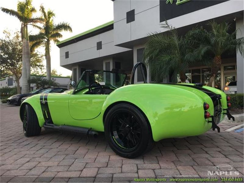 1965 Replica/Kit BackDraft Racing 427 Shelby Cobra Replica for sale on  GoCars