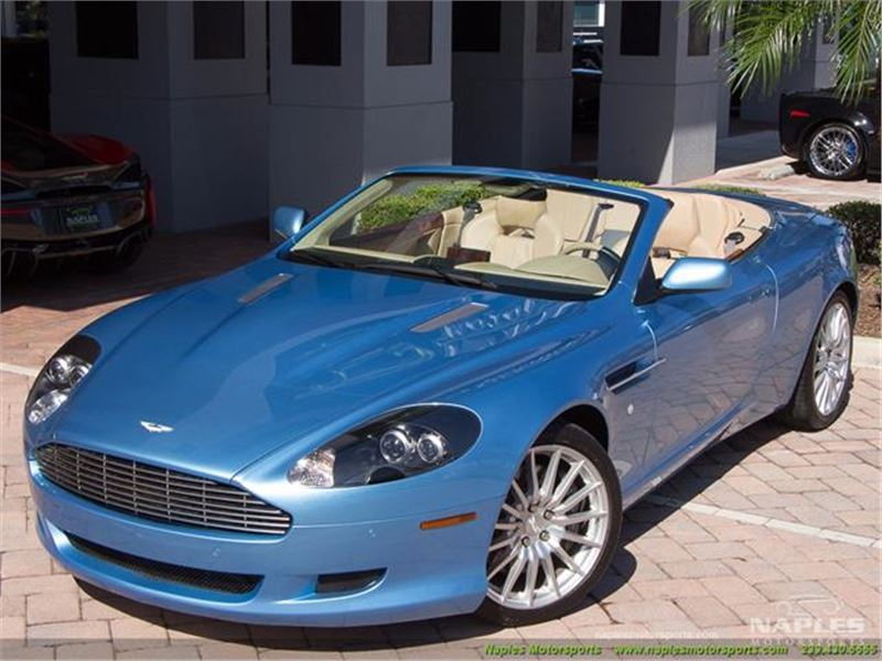 2008 Aston Martin Db9 Volante for sale in for sale on GoCars