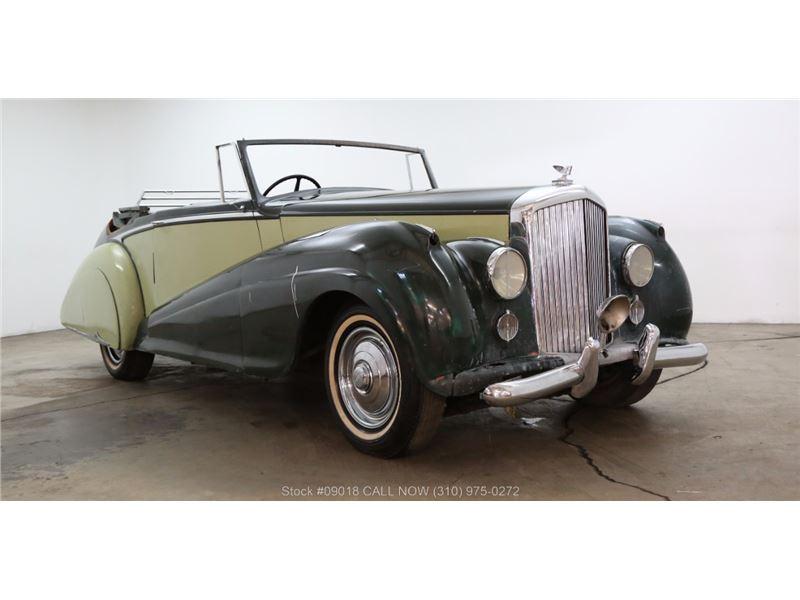 1952 Bentley R-Type Drophead for sale in Los Angeles, California 90063