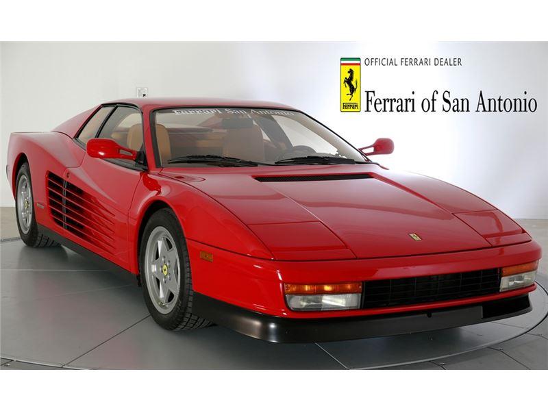 1990 Ferrari Testarossa for sale in for sale on GoCars
