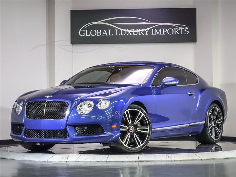 2013 Bentley Continental Gt V8 For Sale Gc 28027 Gocars