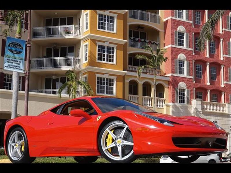 2011 Ferrari 458 Italia for sale in Naples, Florida 34104