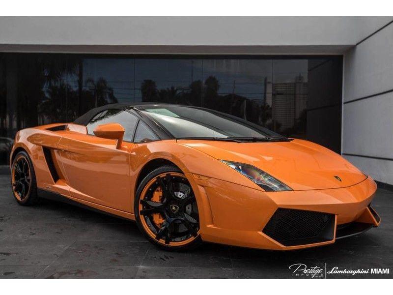 2014 Lamborghini Gallardo Spyder