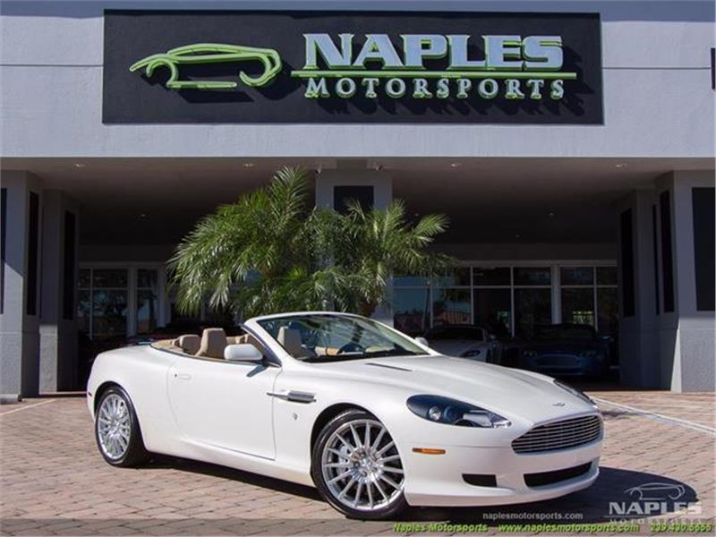 2007 Aston Martin Db9 Volante For Sale Gc 28321 Gocars