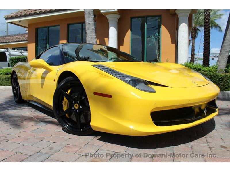2012 Ferrari 458 Italia for sale in Deerfield Beach, Florida 33441