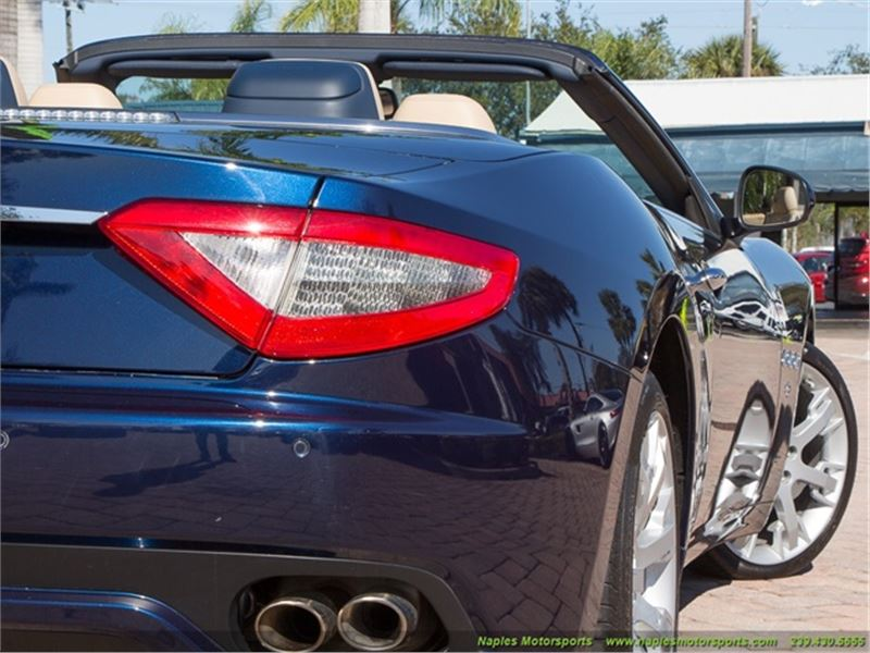 2013 Maserati Gran Turismo Convertible for sale in for sale on GoCars