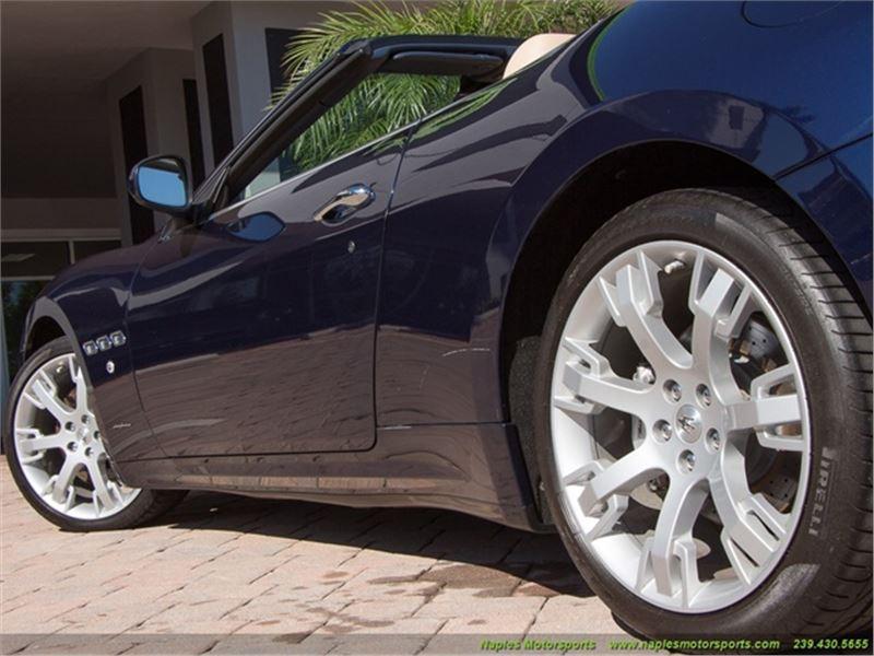 2013 Maserati Gran Turismo Convertible for sale in for sale on GoCars