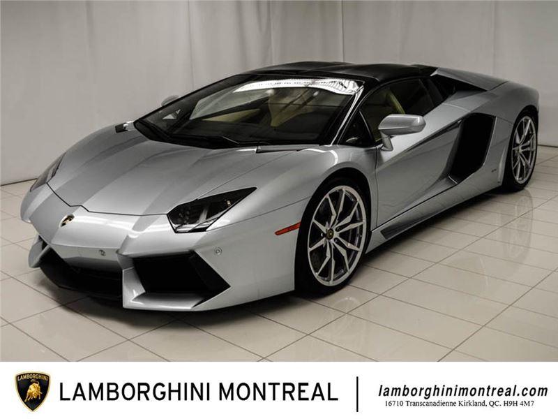 2013 Lamborghini Aventador Roadster For Sale Gc 28554 Gocars