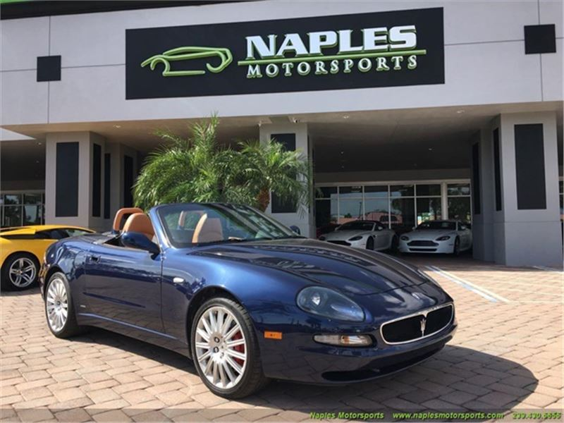 Used Maserati Spyder For Sale Maserati Spyder Cars