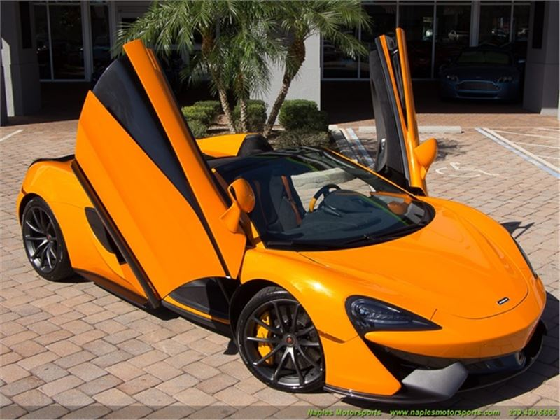 2018 Mclaren 570s Spider For Sale Gc 28773 Gocars