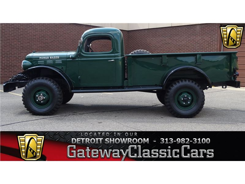 Dodge Power Wagon For Sale >> 1946 Dodge Power Wagon For Sale On Gocars