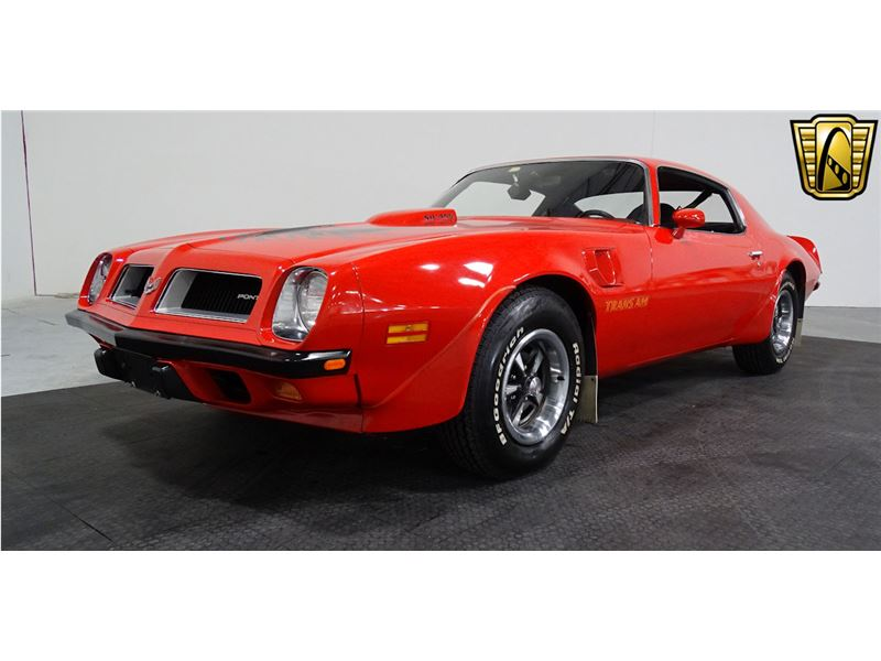 1974 Pontiac Trans Am For Sale Gc 30782 Gocars