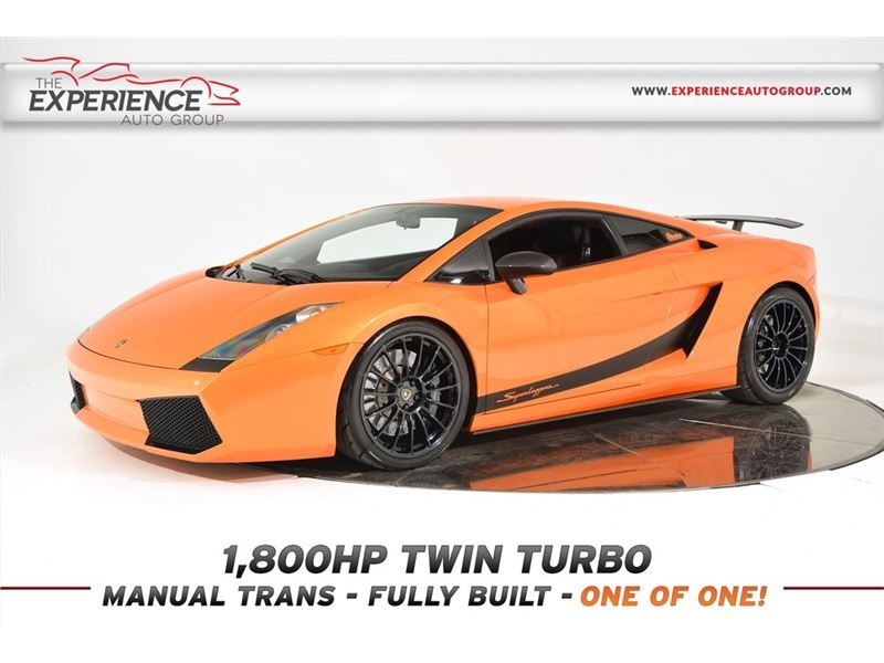 2008 Lamborghini Gallardo Superleggera Twin Turbo For Sale Gc