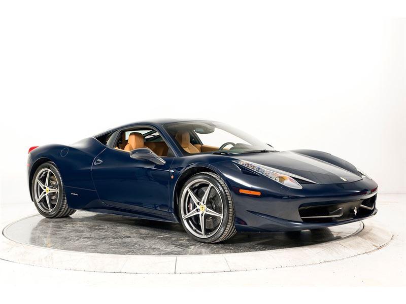 2013 Ferrari 458 Italia for sale in for sale on GoCars