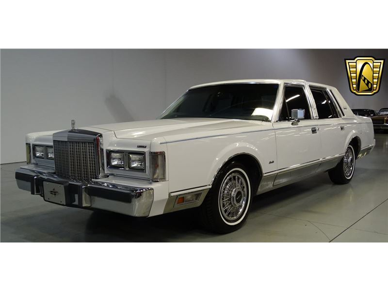 1985 Lincoln Town Car For Sale Gc 32133 Gocars