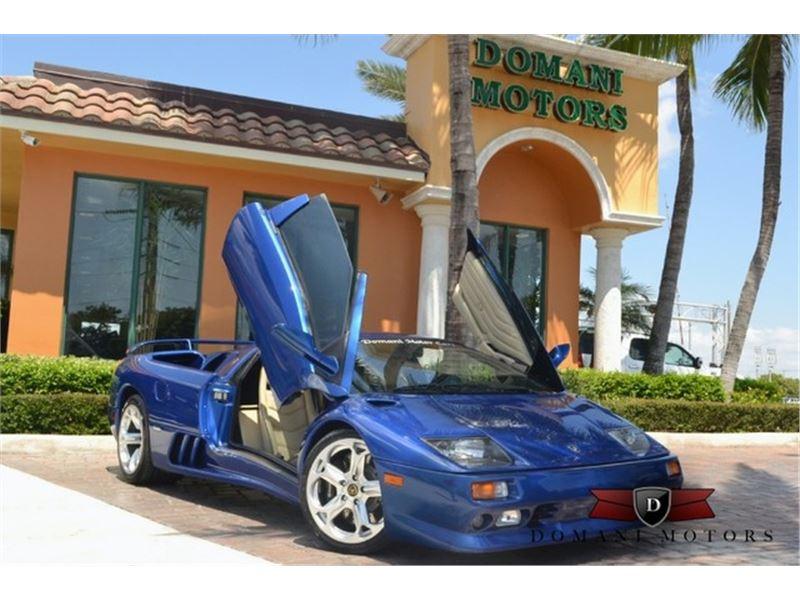 1999 Lamborghini Diablo VT for sale in Deerfield Beach, Florida 33441