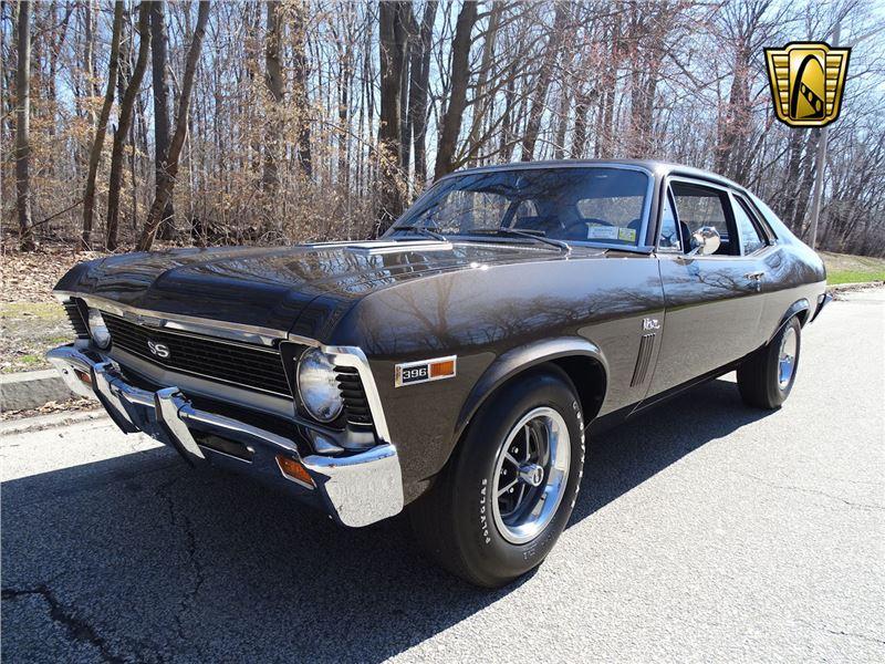 1969 Chevrolet Nova For Sale On Gocars