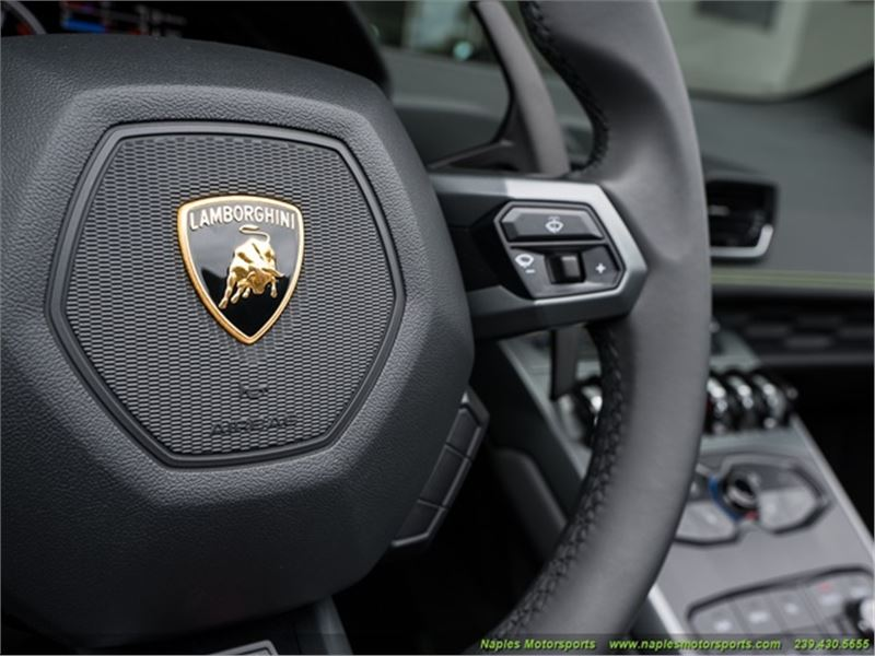 2017 Lamborghini Huracan Lp 580-2 Spyder for sale in for sale on GoCars