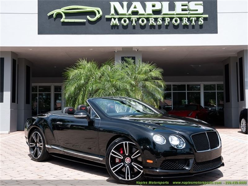 2015 Bentley Continental Gt Gtc V8 S Convertible For Sale Gc 34115