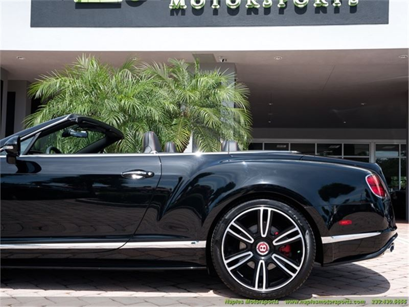 2015 Bentley Continental GT GTC V8 S Convertible for sale in for sale on GoCars