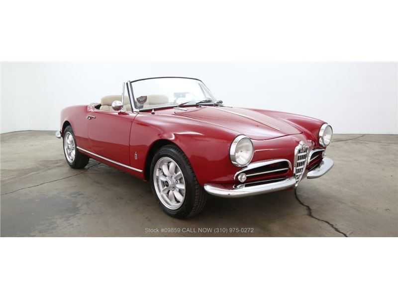 Alfa Romeo Giulietta Spider For Sale GC GoCars - Alfa romeo giulietta 1960 for sale