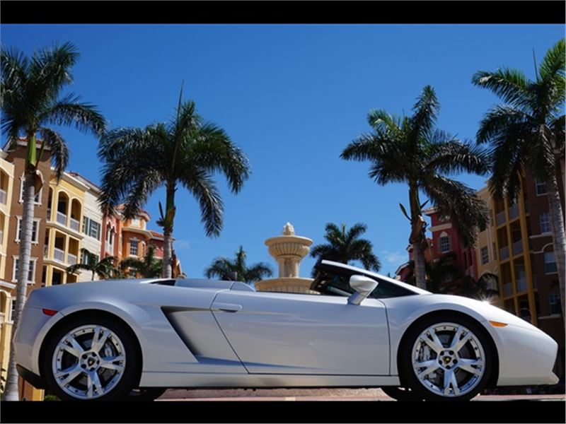 2008 Lamborghini Gallardo Spyder for sale in for sale on GoCars
