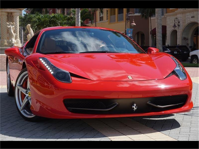 2010 Ferrari 458 Italia for sale in for sale on GoCars