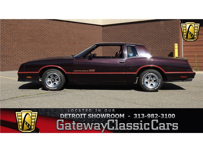 1985 Chevrolet Monte Carlo for sale on GoCars