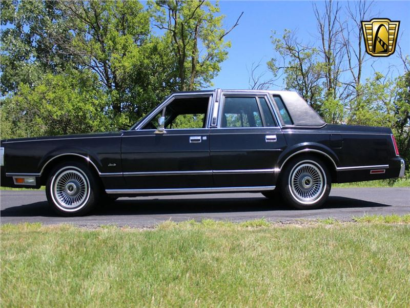1988 Lincoln Town Car For Sale Gc 34556 Gocars
