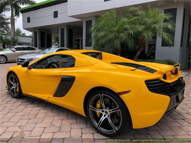 2016 McLaren 650S Spider for sale in for sale on GoCars